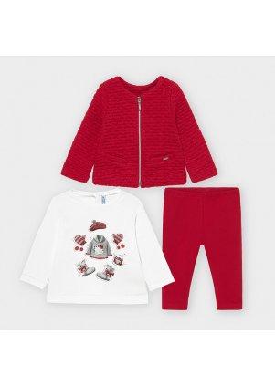 Setík mikinka, tričko a legínky, Carmine Re