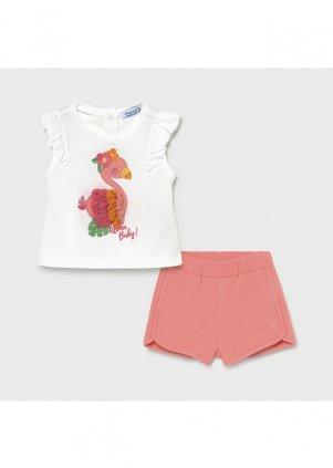 Setík tílko a šortky, Flamingo