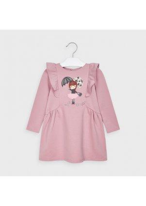 Šaty s holčičkou, Blush
