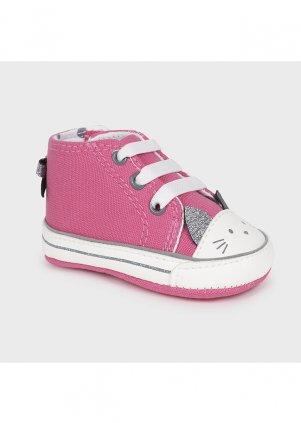 Tenisky s kočičkou, Pink