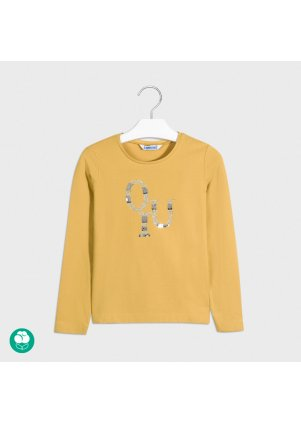 Tričko s dlouhým rukávem, Mustard