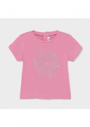 Tričko s motivem kytičky, Camellia