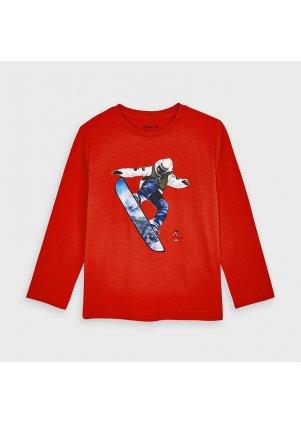 Tričko se snowboardistou, Flame