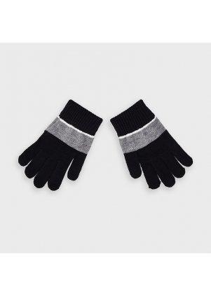 Vzorované rukavice, Black