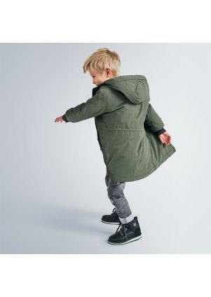 Zimní bunda s kožíškem, Leaf