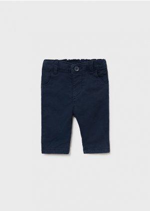 Keprové elastické kalhoty, Navy