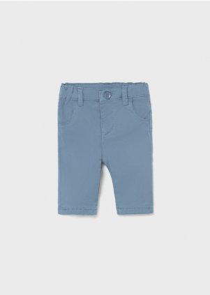 Keprové elastické kalhoty, rivier blu