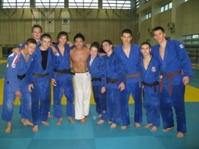 Juniorská reprezentace judo v Korei