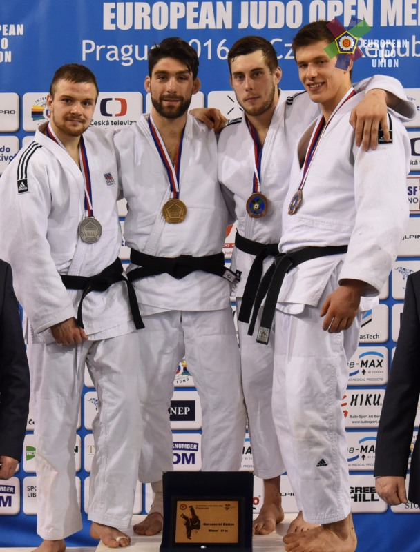Ivan Petr - 3. místo na European open Praha 2016