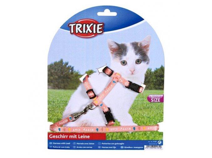 Trixie postroj pro koťata Kitty Cat 21 - 33 8 mm 1.20 cm