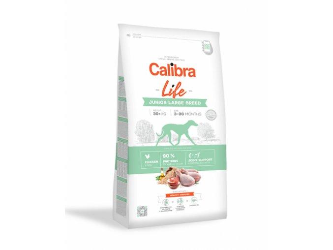 calibra dog life junior large breed chicken 12 kg