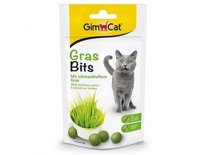 Tablety s trávou pro kočky