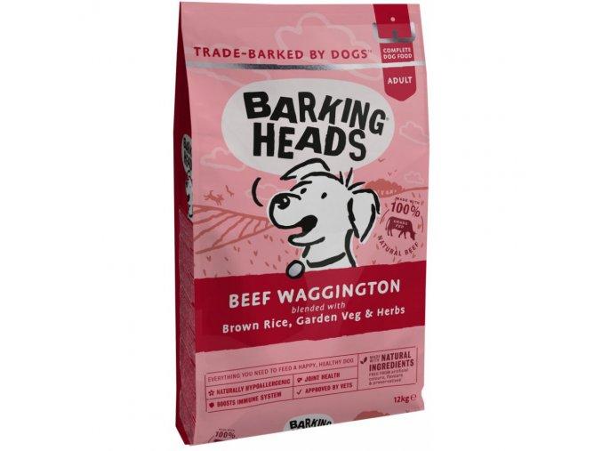 Barking Heads Beef Waggington Adult 12 kg monoprotein