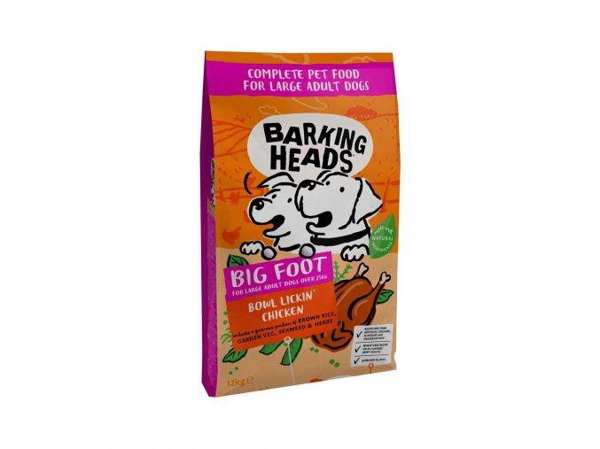 Barking Heads Bowl Lickin´Chicken Large Breed 12 kg pro dospělé psy velkých plemen