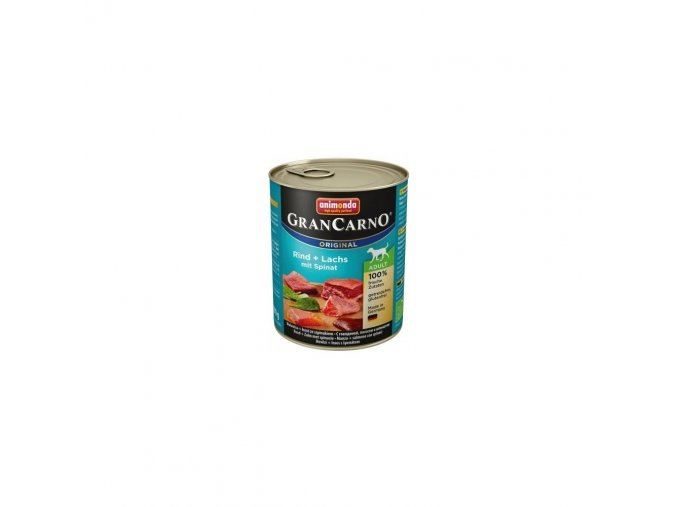 Animonda Gran Carno Adult losos & špenát 800 g