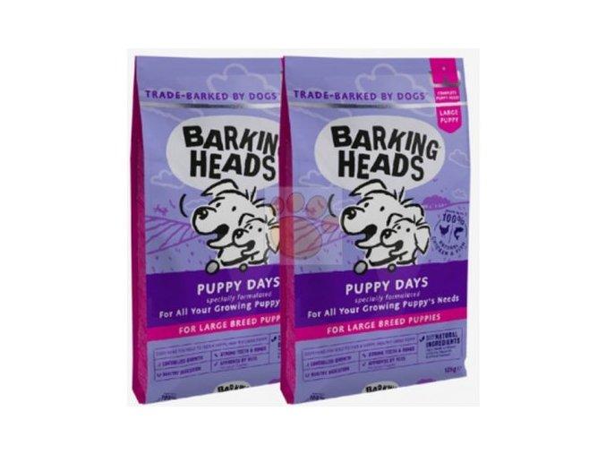 Barking Heads Puppy Days Large Breed 2x12 kg pro štěňata velkých plemen