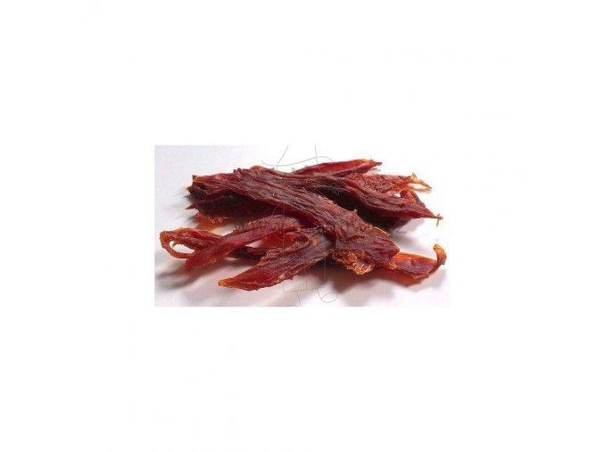Want Dog Sušené kachní Jerky Plátky 500 g