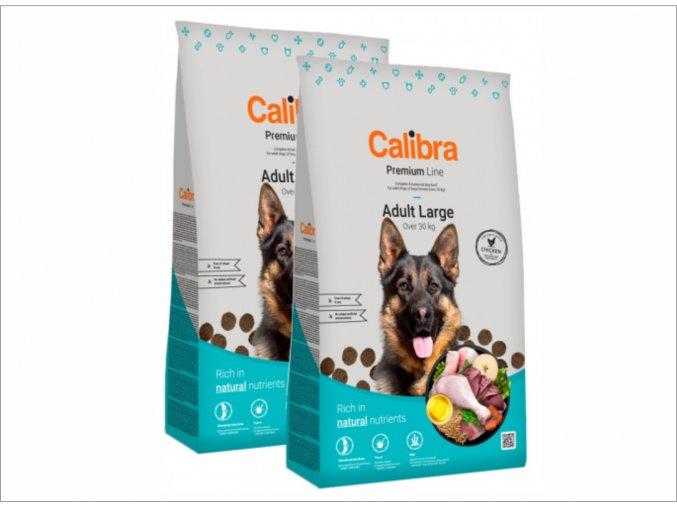 calibra adult large 2x12kg pro dospělé psy velkých plemen