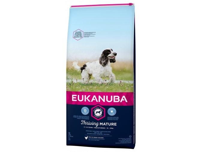 eukanuba mature medium 15kg original