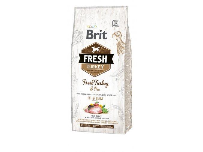 granule Brit Fresh Turkey & Pea Adult Fit & Slim