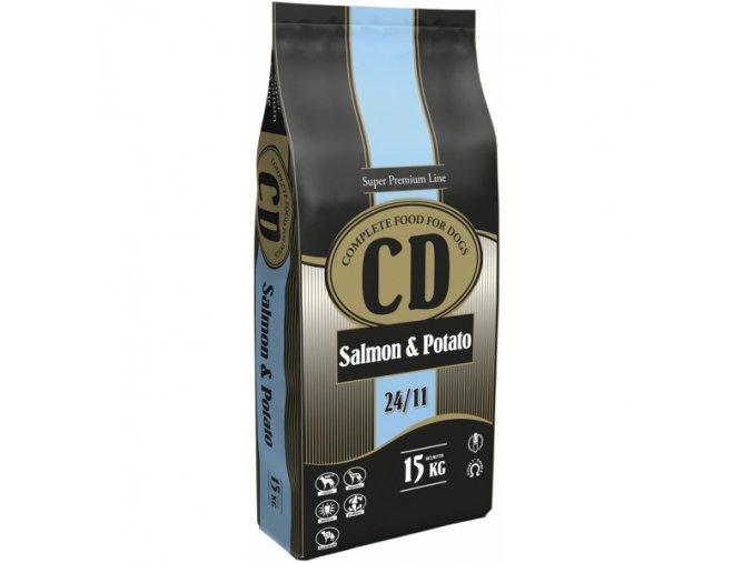 delikan cd salmon and potato 15 kg