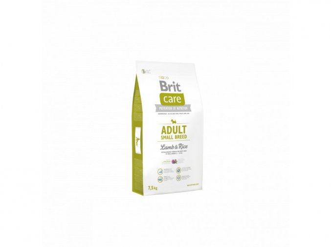 4197 brit care adult small breed lamb rice 7 5kg