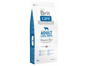 brit care adult large breed lamb amp rice 12kg