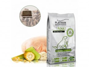 Platinum Natural Adult Chicken 5 kg granulecatalog item 19201 img 15911697687615