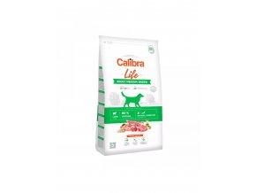 calibra dog life adult medium breed lamb r