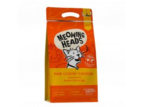 meowing heads paw lickinchicken