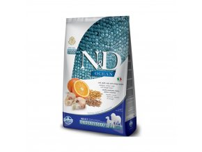 N&D Ocean Dog LG Adult M L Codfish & Orange 12 kg