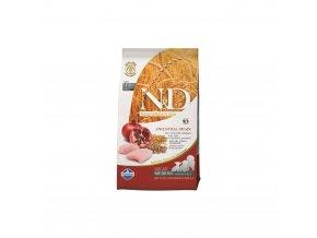 N&D Low Grain Dog Puppy Chicken & Pomegranate 12 kg granule pro štěňata