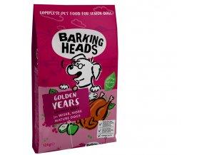 Barking Heads Golden Years 12 kg granule pro seniory