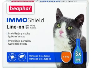 Antiparazitní spot on pro kočky