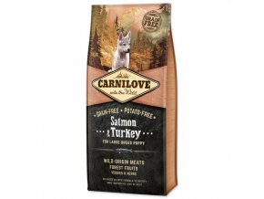 Carnilove Dog Salmon & Turkey for Large Breed Puppy