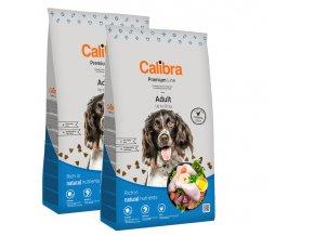 calibra adult 2x12kg pro sopělé psy