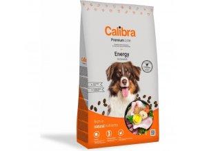 Calibra Dog Premium Line Energy 12 kg pro aktivní, zátěžové granule