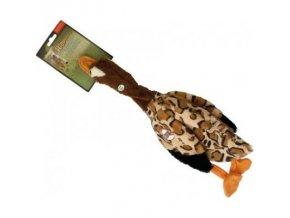 Skinneeez Divoká kachna pískací 46 cm hračka pro psy plyšová