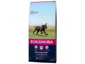 Eukanuba Puppy & Junior Large Breed 15 kg pro štěňata velkých plemen