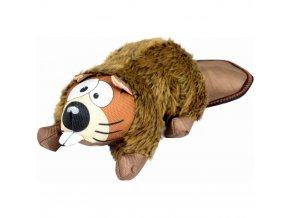 Zolux Hector Beaver plyš 24 cm plyšová hračka pro psy