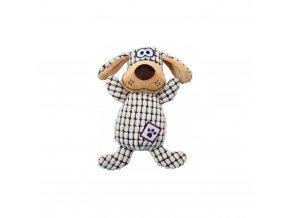 Trixie Plyšový pes kostkovaný 26 cm