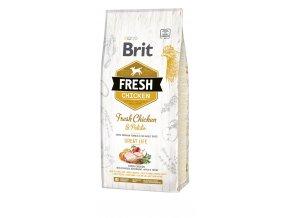 granule Brit Fresh Chicken & Potato Adult Great Life