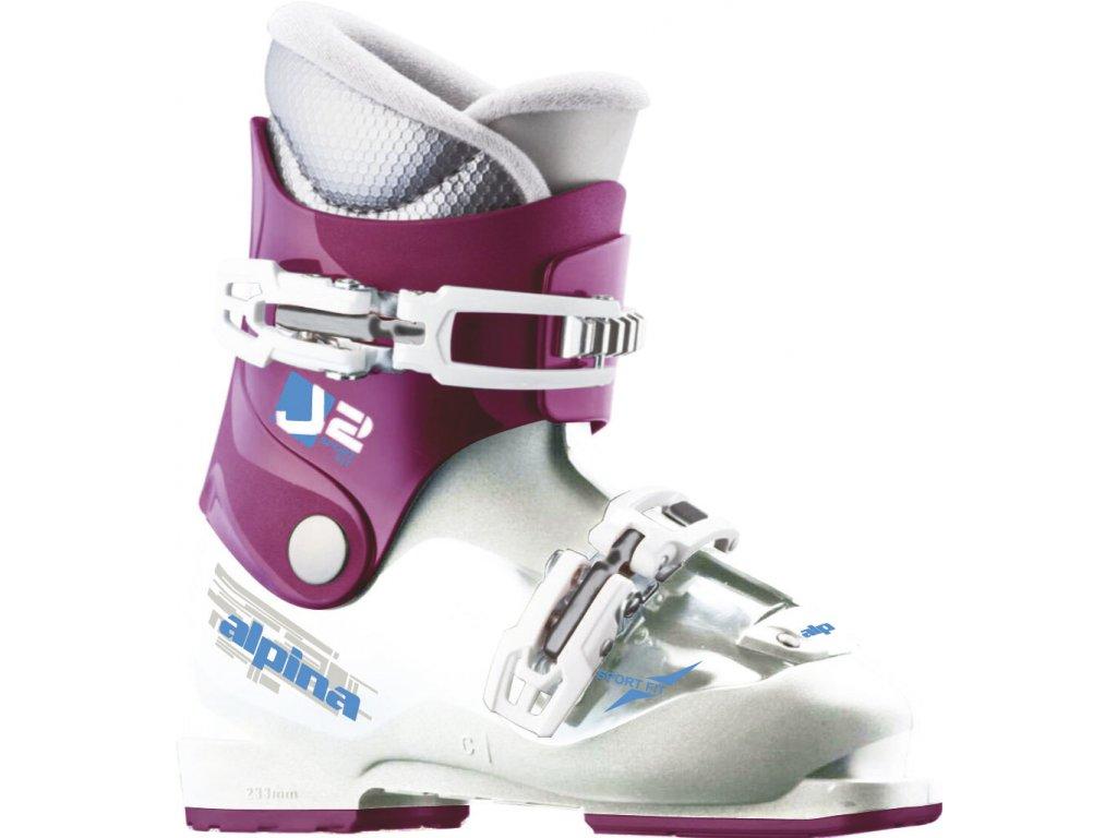 Alpina J2 19/20 Pink/White
