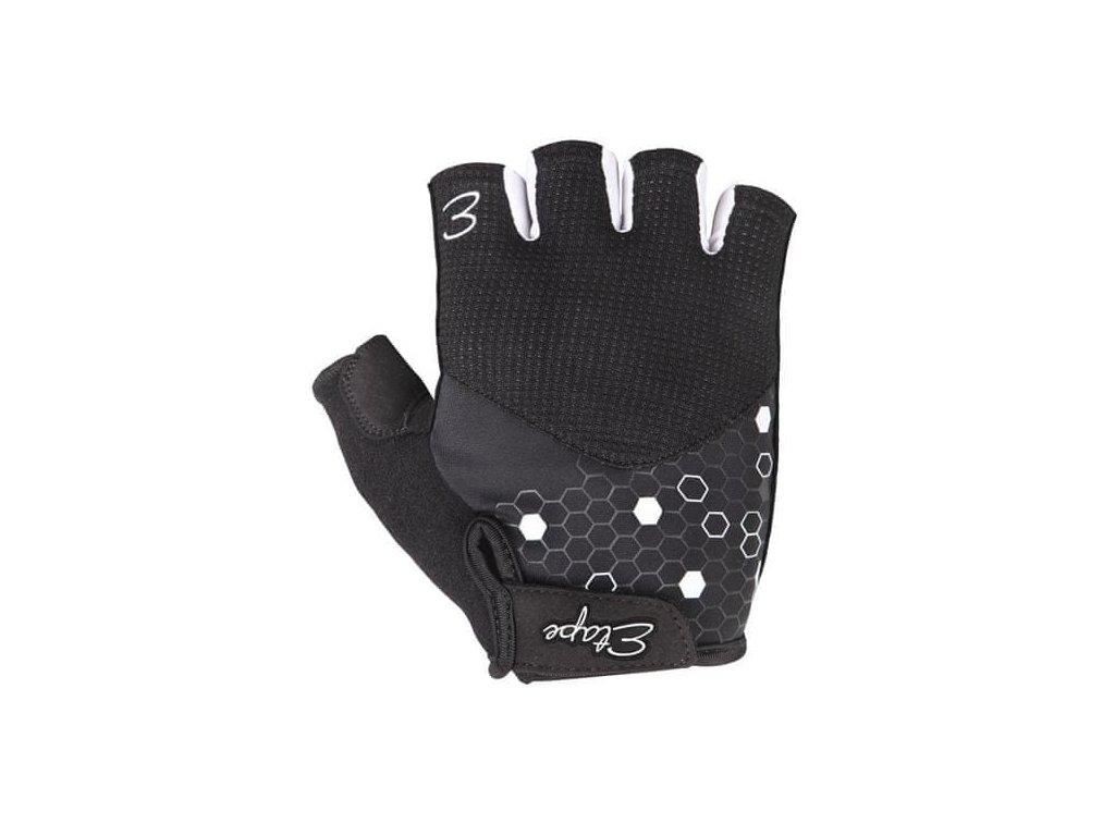 rukavice Etape Betty černá/bílá