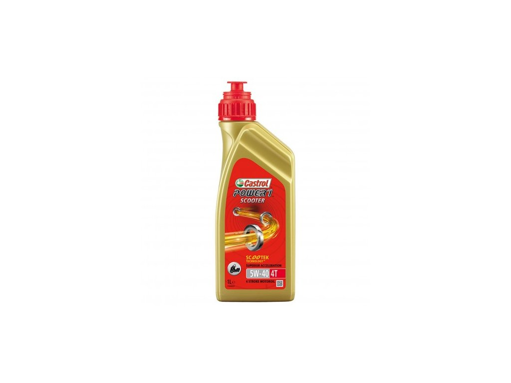castrol power 1 scooter 4t 5w 40 1l