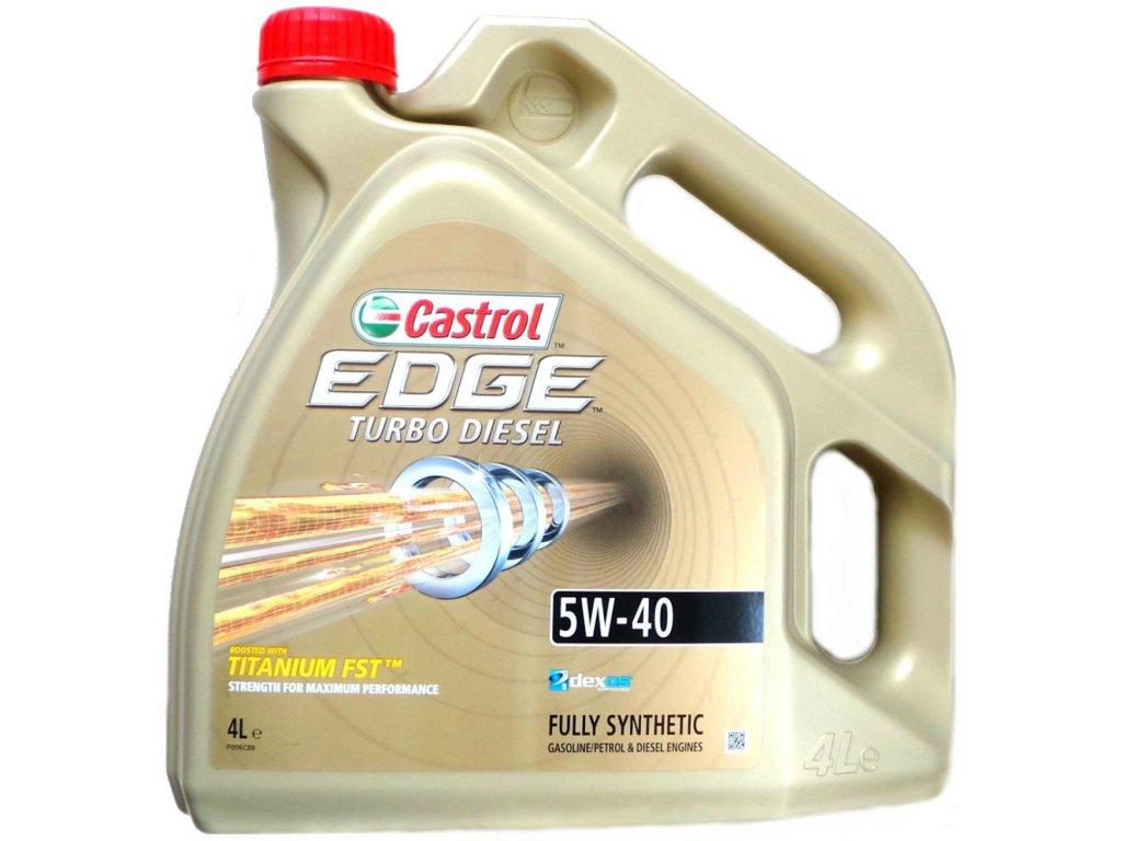 Castrol Edge TD Titanium 5W-40 4L