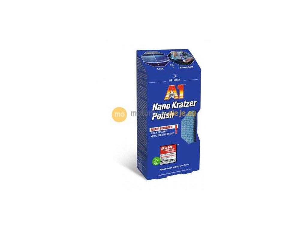 A1 Nano Odstranovač škrabancov z laku a plastu 50 ml
