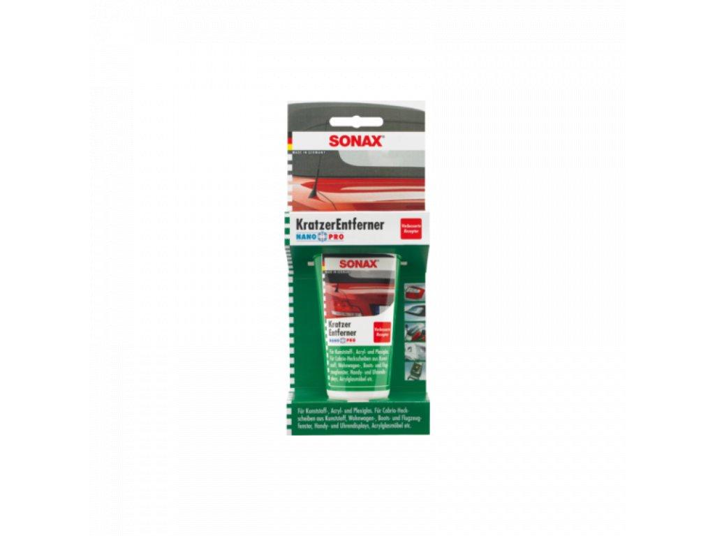 SONAX Odstraňovač škrabancov z plastových a plexi dielov 75ml