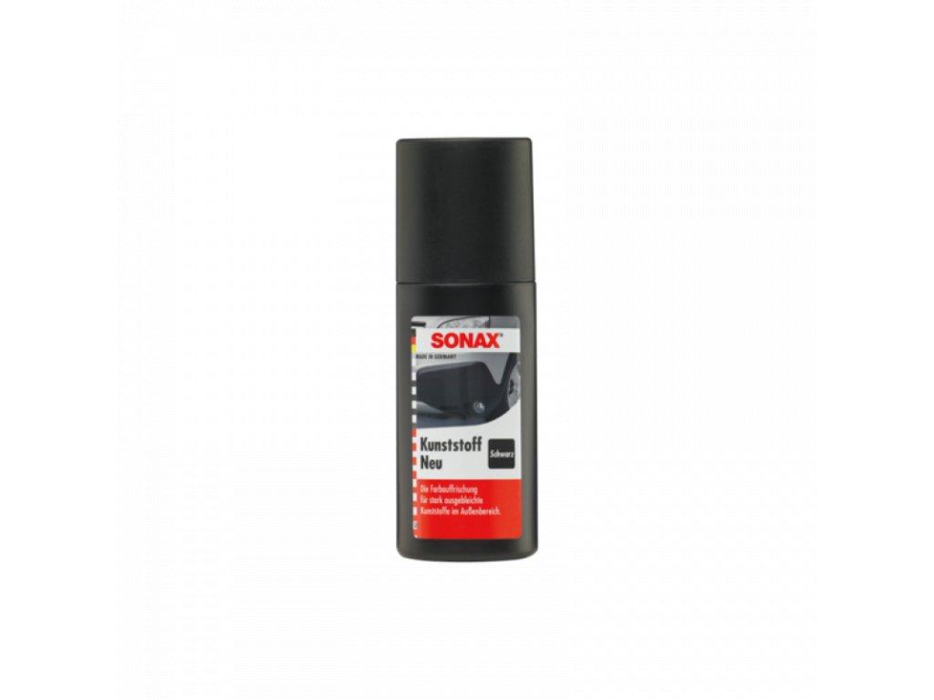 SONAX Obnovovač farieb plastov cierny 100ml