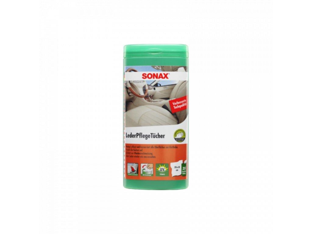 SONAX Obrúsky na ošetrenie kože 25ks